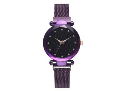 Luksuzni ženski modni sat StarDust, Ljubičasta