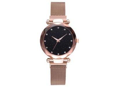 Luksuzni ženski modni sat StarDust, Zlatna