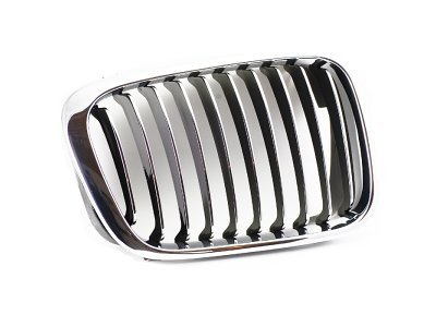 Maska BMW 3 E46 98-01 hrom/crna