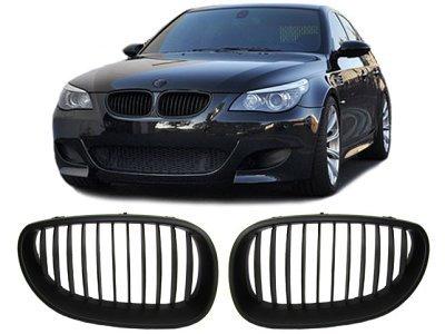 Maska BMW 5 E60 03- crna KPL