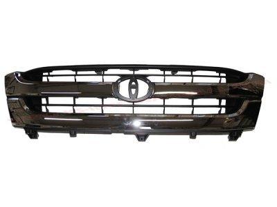 Maska Toyota Hilux 01-05 hrom/crna