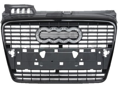 Maske Audi A4 04- schwarz