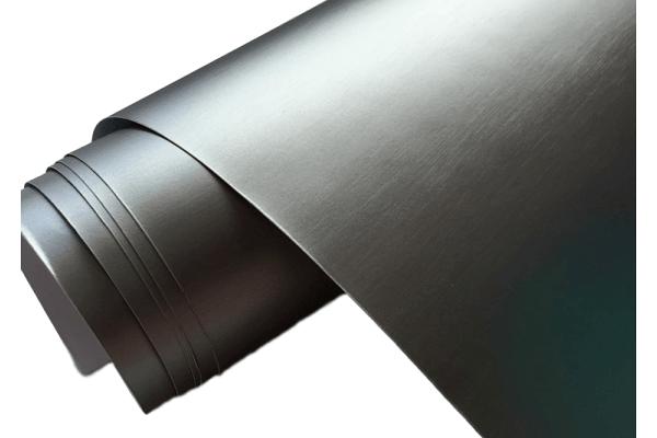 Mat siva brušena folija, 50x153m