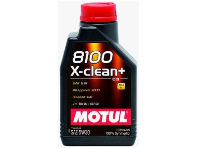 Mazivo Motul 8100 X-Clean FE 5W30 1L