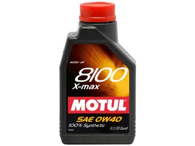 Mazivo Motul 8100 X-Max 0W40 1L