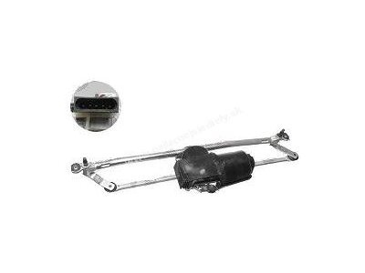 Mechanismus mit Motor für Wischerachse Fiat Doblo 01-05