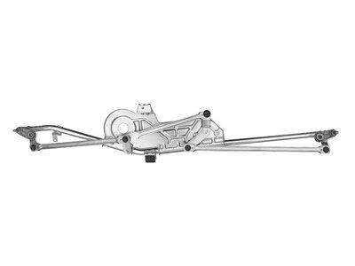 Mechanismus ohne Motor für Wischerachse Seat Alhambra 96-01