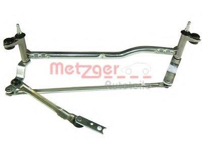 Mehanizam bez motoriča za brisače Volkswagen Caddy 04-