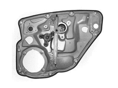 Mehanizam podizača zadnjega stakla Fiat Stilo 01- + panelna plošča