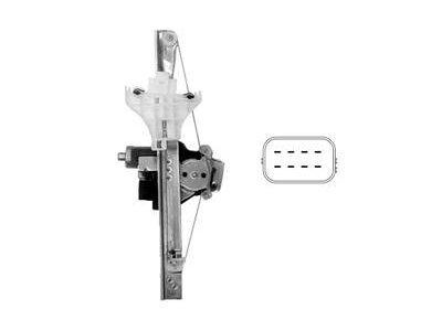 Mehanizem dviga zadnjega stekla Ford Mondeo 01-07 comfort