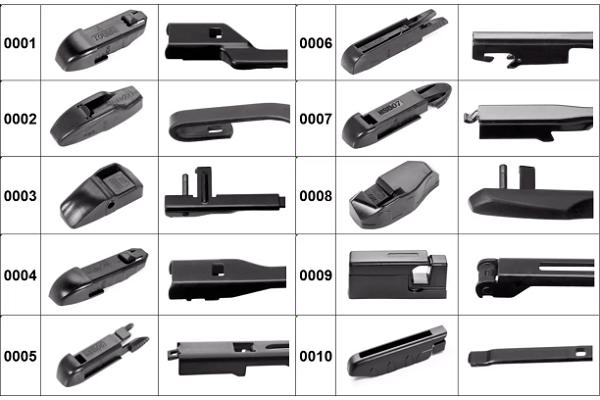 Metlica brisača Silux Wipers, L/D: 550mm/450mm, garancija 12 meseci