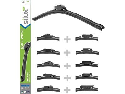 Metlice brisalcev Silux Wipers, L/D: 650mm/550mm, 12 mesečna garancija