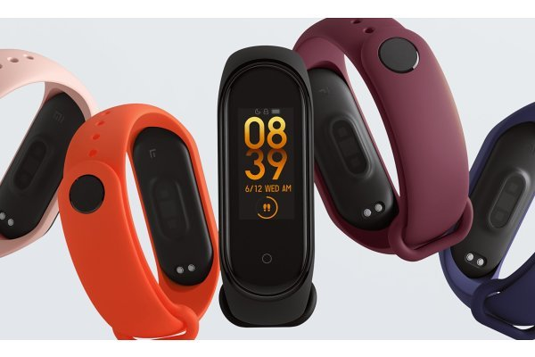 Mi Band 4 (Global version), vodoodporna pametna zapestnica, Android + iOS, Bluetooth
