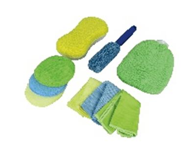 Microfibre krpa za nego vozila, set 9 kosov