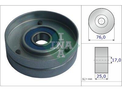 Mikro remen (napinjač) 531075130 - Volvo S70 97-00