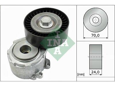 Mikro remen (napinjač) 534011020 - Citroen C5 01-08