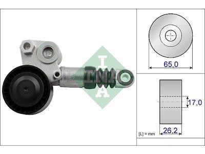 Mikro remen (napinjač) 534043610 - Volvo S60 10-13