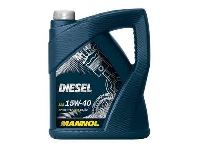 Mineralno olje Diesel Mannol, 15W40, 5L