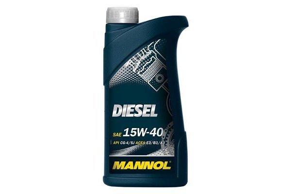 Mineralno ulje Diesel Mannol, 15W40, 1L
