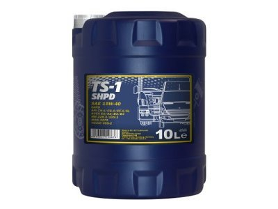 Mineralno ulje Mannol, 15W40, 10L, SHPD TS-1