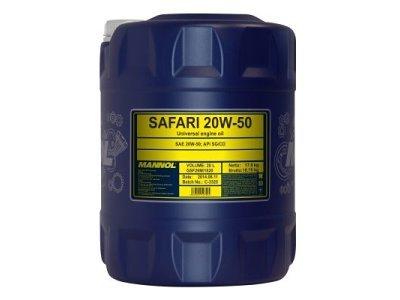 Mineralno ulje Mannol, 20W50, 20L