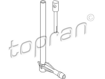 Mlaznica za pranje stakla (stražnja) 107296756 - Volkswagen Golf/Passat