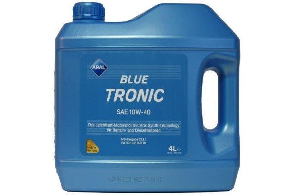 Motorno Olje Aral Blue Tronic 10W40 4L