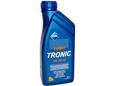 Motorno olje Aral High Tronic New 5W40 1L
