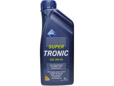 Motorno Olje Aral Super Tronic 0W40 1L