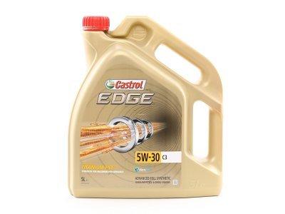 Motorno olje Castrol Edge FST Titanium C3 5W30 4L, Advanced Fuel Synthetic