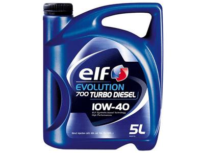 Motorno Olje Elf Evolution 700 Turbo D 10W40 5L