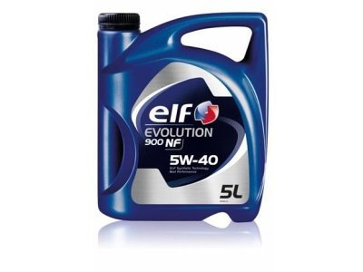 Motorno olje Elf Evolution 900 NF 5W40, 5L