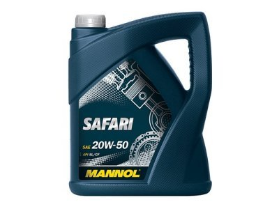 Motorno olje Mannol, 20W50, 3L