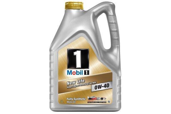 Motorno Olje Mobil 1 New Life 0W40 5L