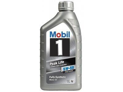 Motorno Olje Mobil 1 Peak Life 5W50 1L