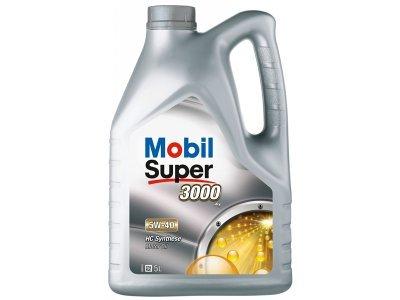 Motorno Olje Mobil Super 3000 X1 5W40 5L