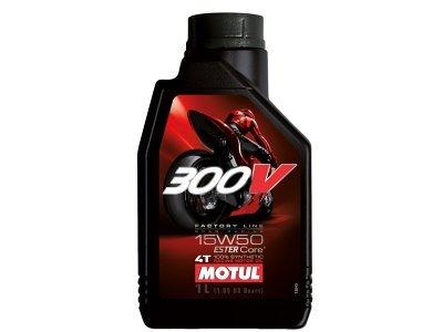 Motorno Olje Motul 4T 300V Factory Line 15W50 1L
