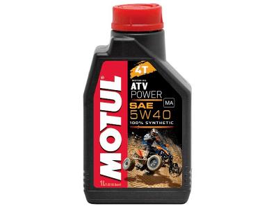 Motorno olje Motul ATV Power 4T 5W40 1L