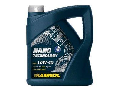 Motorno olje Nano Tehnology 10W40 Mannol, 4L