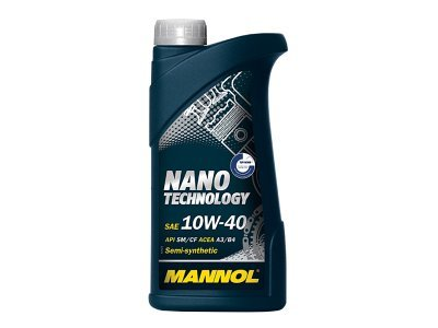 Motorno olje Nano Tehnology 10W40 Mannol