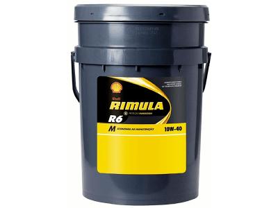 Motorno Olje Shell Rimula R6M 10W40 20L