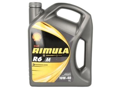 Motorno olje Shell Rimula R6M 10W40 4L