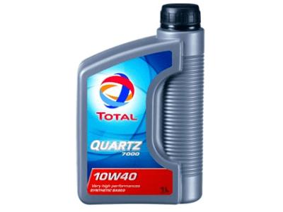 Motorno Olje Total Quartz 7000 10W40 1L
