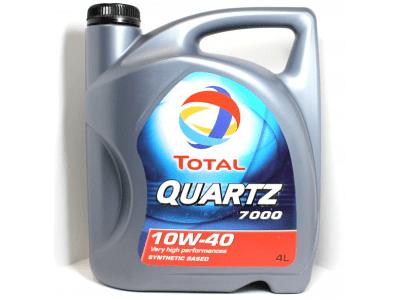 Motorno olje Total Quartz 7000 10W40 4L