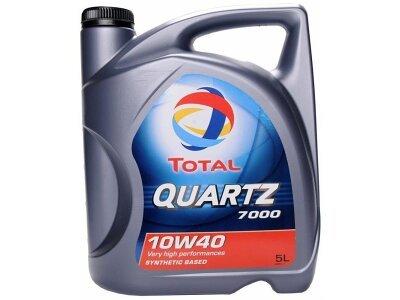 Motorno Olje Total Quartz 7000 10W40 5L