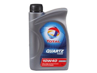 Motorno Olje Total Quartz 7000 Diesel 10W40 1L