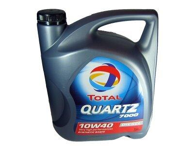 Motorno Olje Total Quartz 7000 Diesel 10W40 5L