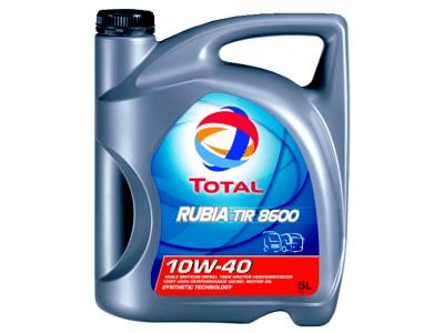 Motorno olje Total Rubia TIR 8600 10W40 5L