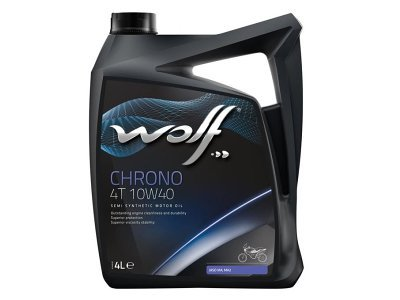 Motorno Olje WOLF CHRONO 4T 10W40 4L