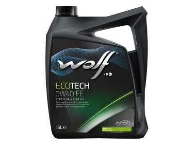 Motorno Olje WOLF ECOTECH 0W40 FE 5L